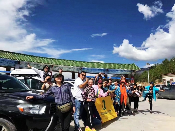 川藏线自驾游车队