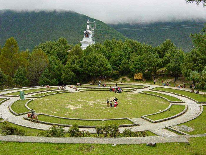 川西环线景点:跑马山
