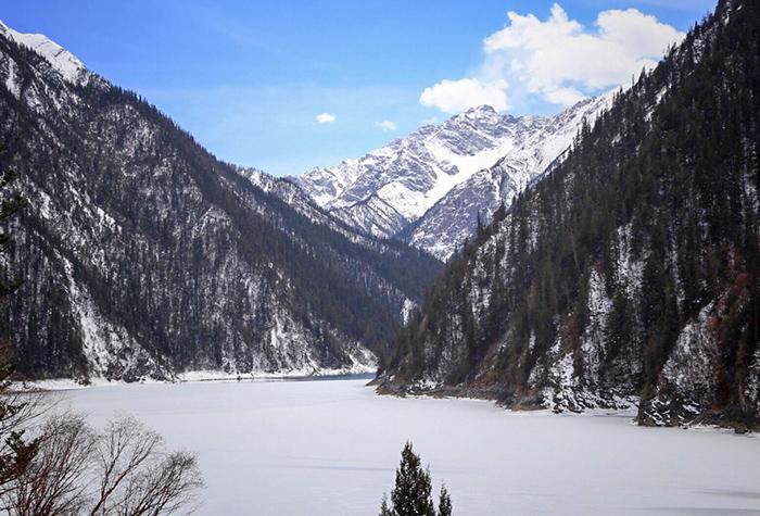 冬天九寨沟长海1