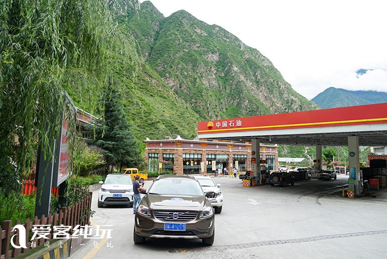 川藏线沿途加气站