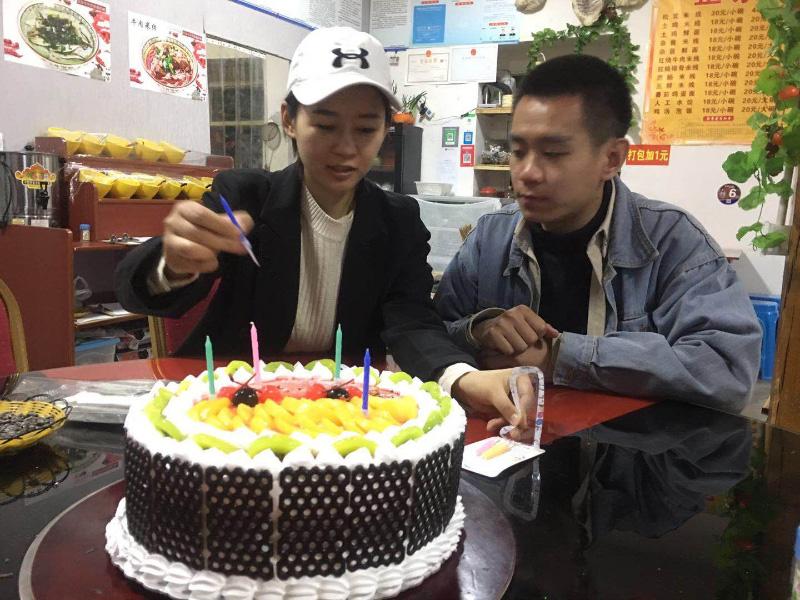 川藏线客人过生日3