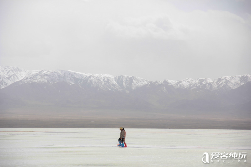 茶卡盐湖-(1)