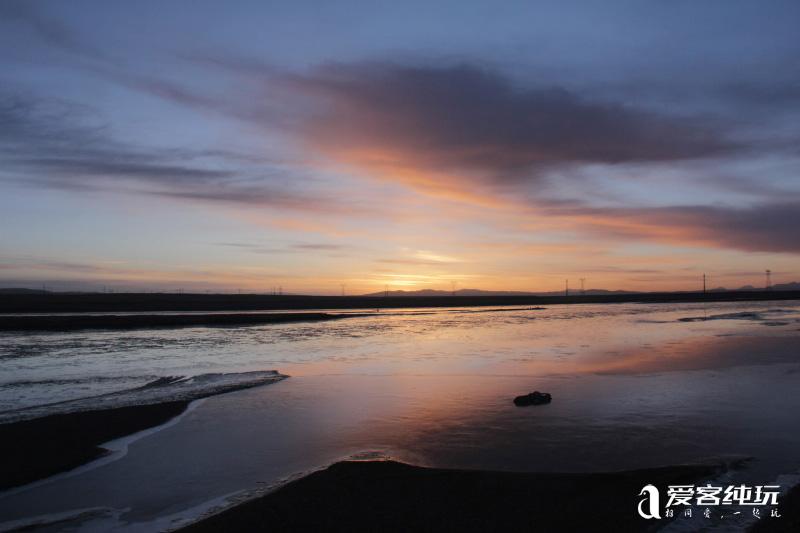 沱沱河看日出 (3)
