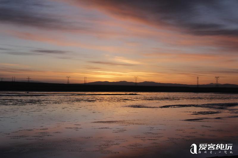 沱沱河看日出 (2)