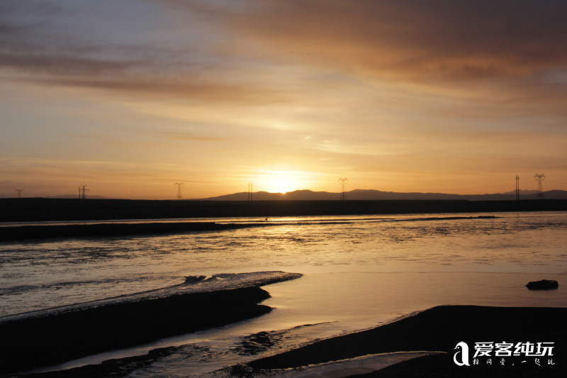 沱沱河看日出 (4)