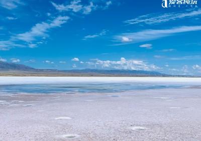 """传说中的""""天空之境""""茶卡盐湖 你知道是哪里吗?"""