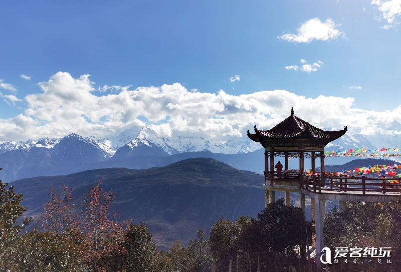 飞来寺观梅里雪山-(6)