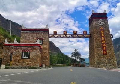 去丹巴看藏寨几月去最美?