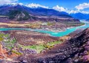 【传奇穿越之旅】大理古城、丙察察、雅鲁藏布江大峡谷、南迦巴瓦峰、林芝桃花摄影9日游