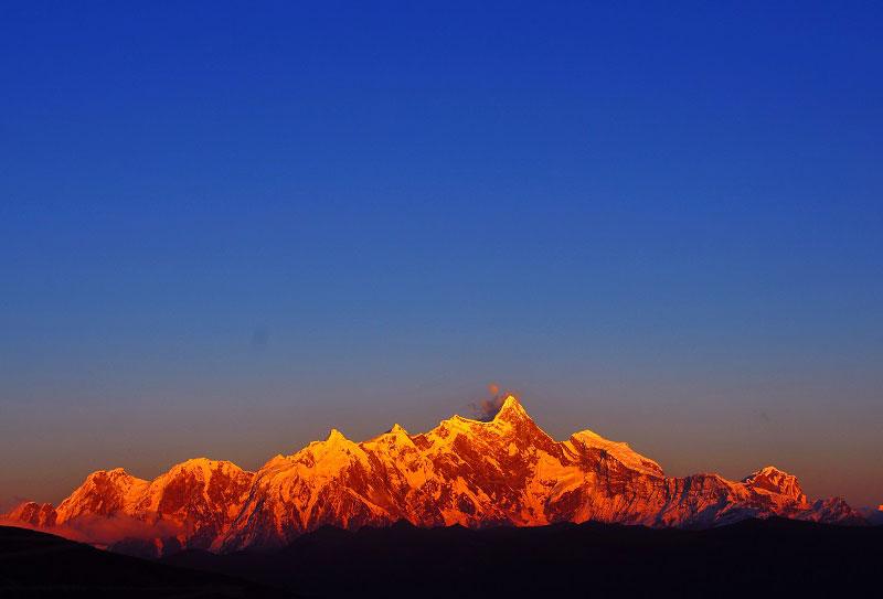 色季拉山眺望南迦巴瓦峰