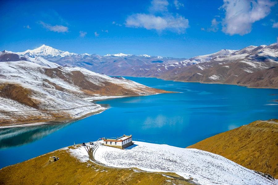冬天的羊湖 (2)