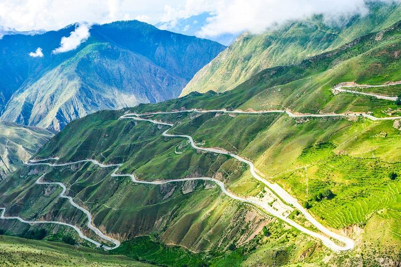 318川藏线上天路72拐