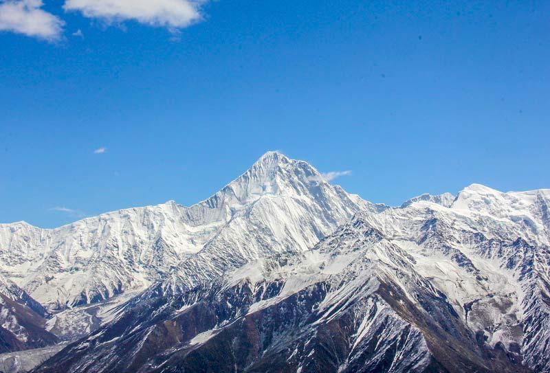 贡嘎雪山 (2)