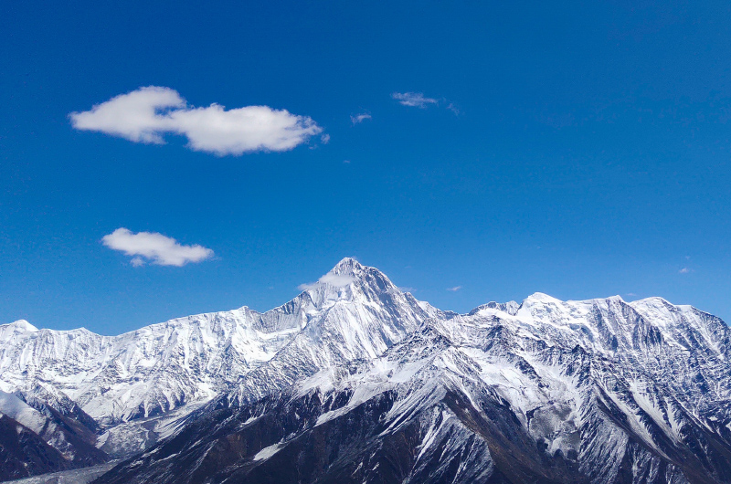 贡嘎雪山1