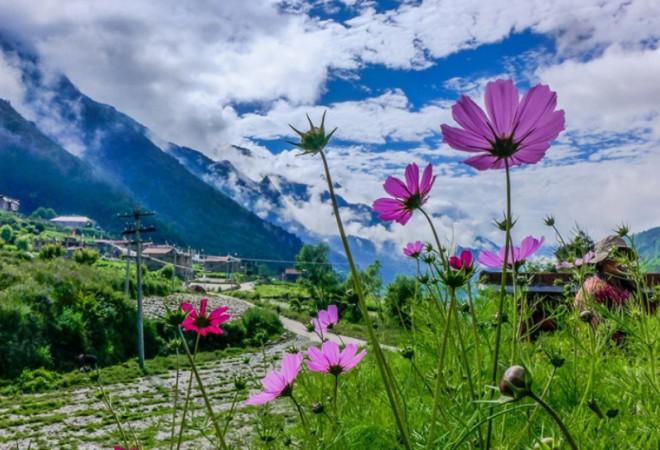 【孟屯河谷徒步露营2日游】天地灵光人物和谐,走进梦开始的地方