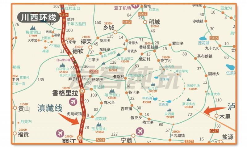 新疆旅游地图