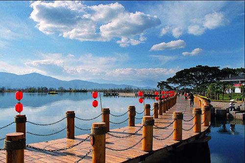 西昌邛海小渔村之旅