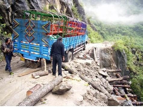 川藏线最难走的路段 通麦最新路况