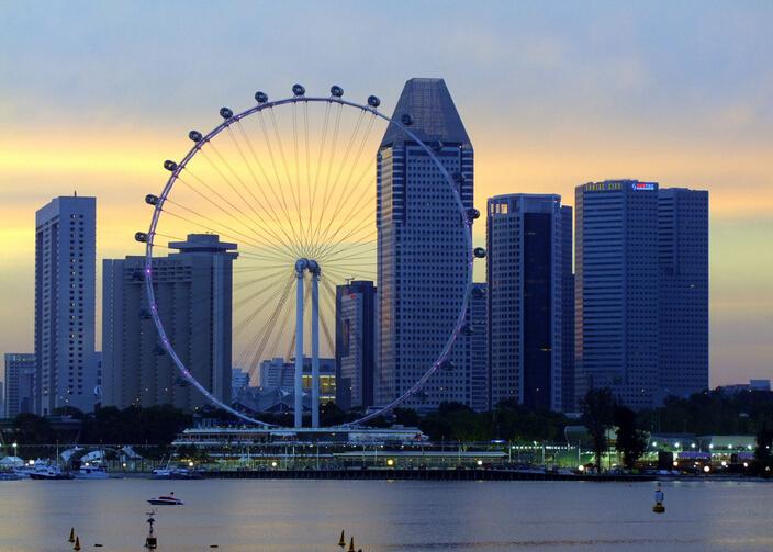 全开发式的新加坡动物园