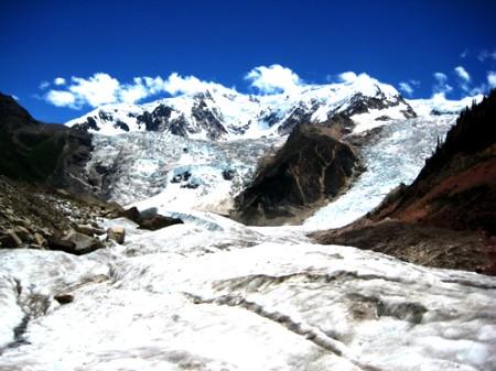 惊艳的米堆冰川
