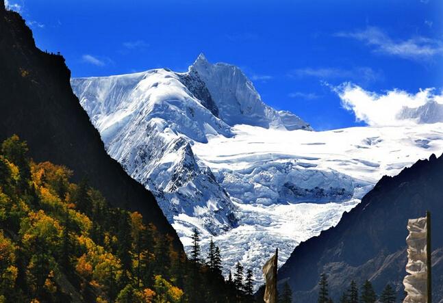 四、五、六月川藏线看冰川雪山