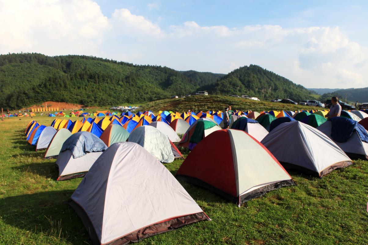 西岭雪山露营 邂逅浪漫风景
