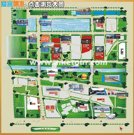 建川博物馆地图