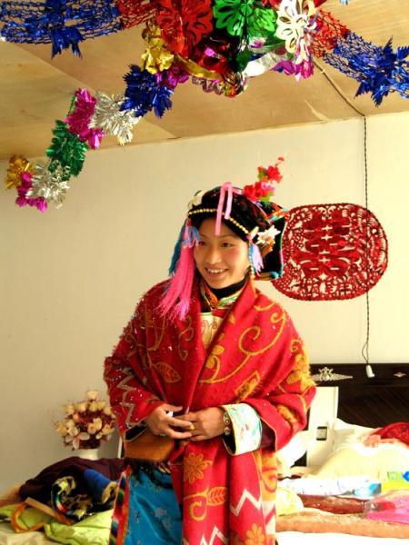 稻城藏家婚嫁习俗