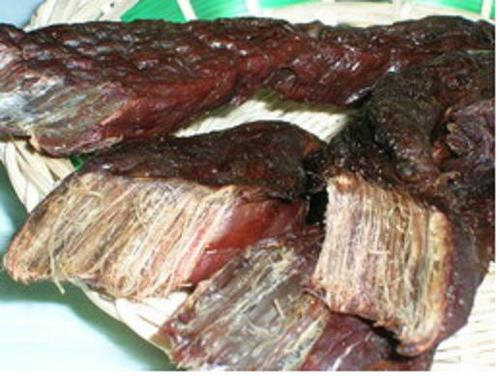 九寨沟美食:雪山牦牛肉