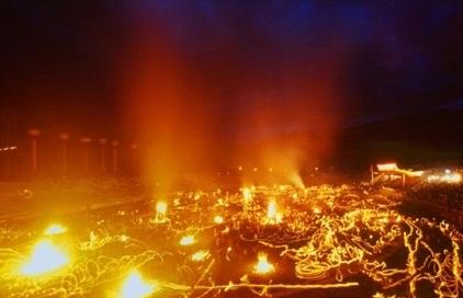 彝族火把节 东方情人节、狂欢节
