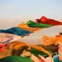 318川藏线旅游途中那些经幡究竟多美?