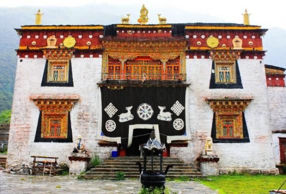稻城扎郎寺