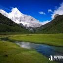 稻城亚丁景点分布图