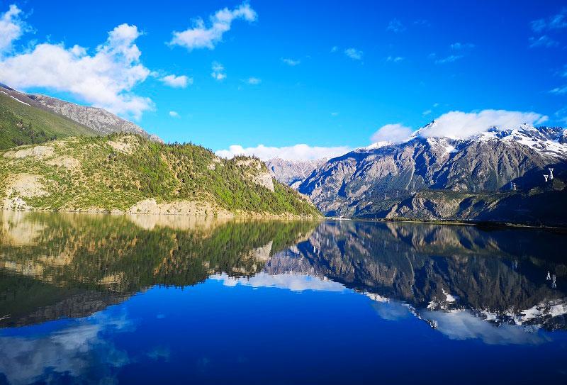 然乌湖-(2)