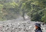 紧急通知:波密古乡到林芝发生大型泥石流,速看