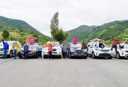雨季还能自驾走川藏线吗?看看 7.14期爱客川藏自驾团沿途实拍